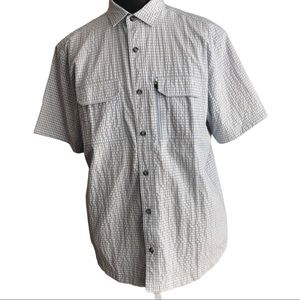 No Fly Zone insect repellent short sleeve shirt XL